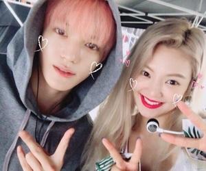 snsd, hyoyeon, and taeyong image