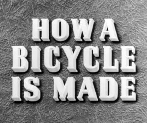 bicycle and documental image