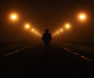 dark, night, and road image