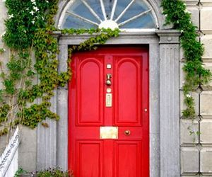 Dream, house, and red door image