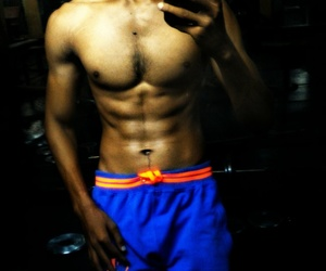 abs, gym, and Hot image