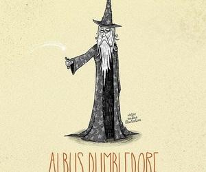 harry potter, albus dumbledore, and dumbledore image