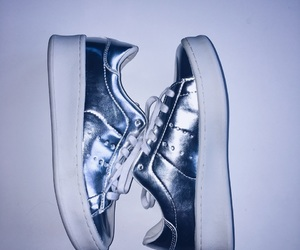 shoe, shoes, and silver image