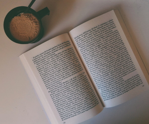 book, coffe, and cool image