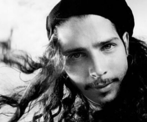 black and white, chris cornell, and cutie image