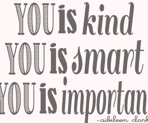 important, kind, and smart image
