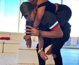 Relationship, couple, and melanin image