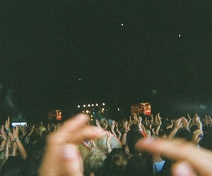 concert, night, and festival image