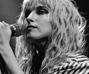 alternative, black and white, and hayley williams image