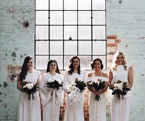 bride, marriage, and squad image