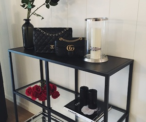 chanel, gucci, and interior image