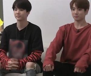 yoongi, jungkook, and bts image