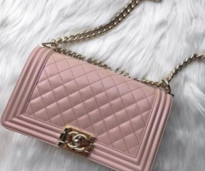 beautiful, pink, and chanel bag image