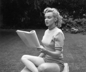 Marilyn Monroe, vintage, and norman jane image