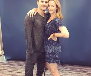 actors, paul wesley, and tvd image