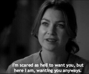 grey's anatomy, meredith grey, and love image