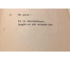 turkce, türkçe sözler, and sözler image