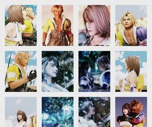yuna, tidus, and final fantasy x image