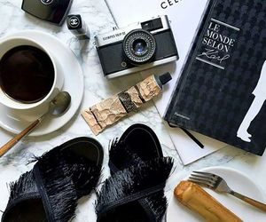 accessories, makeup, and flatlays image