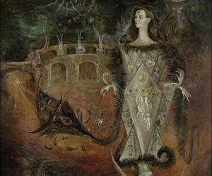 Leonora Carrington, mexican artist, and surrealism painting image