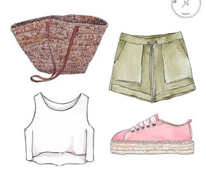 outfit, summer, and outfitsummer image
