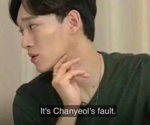 Chen, exo, and meme image