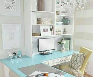desk, home, and office image