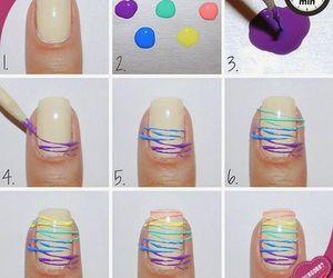 diy, nails, and nail art image