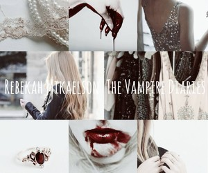 The Originals, the vampire diaries, and rebekah mikaelson image