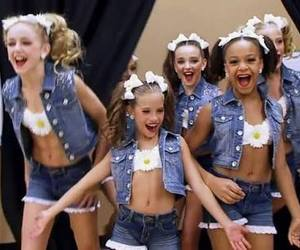 bows, dance, and denim image