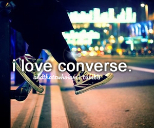 converse, love, and quote image