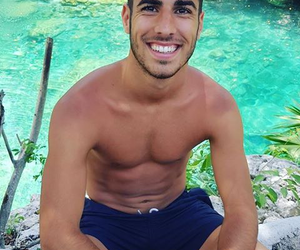 smile and marco asensio image
