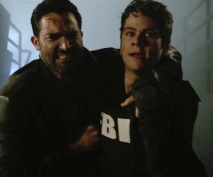 6b, sterek, and stiles stilinski image