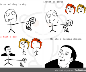 rage, rage comics, and you dont say image