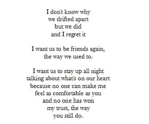 friends, sad, and quotes image
