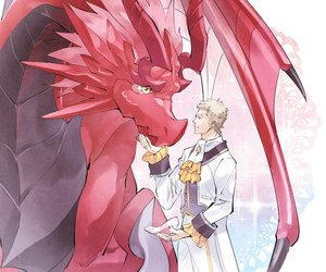anime, anime couple, and shingeki no bahamut image
