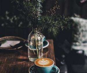 black coffee, breakfast, and espresso image
