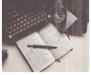 book and writting image