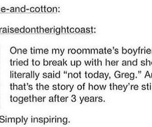 funny, relationships, and tumblr image