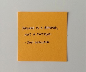 failure, tattoo, and quote image