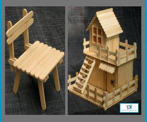 crafts, popsicle sticks, and diy toys image