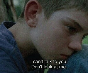 don't look at me and can't talk to you image