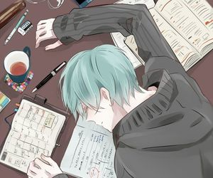 anime, drawing, and anime boy image
