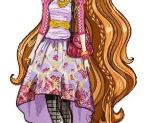 eah, ever after high, and holly o'hair image