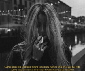 black and white, blond hair, and frases image