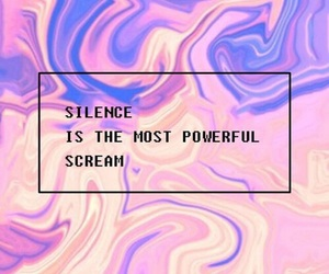 wallpaper, purple, and silence image