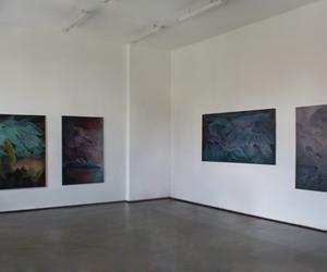 art, acrylic, and art studio image