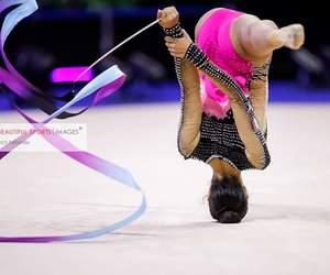 ribbon, rhytmic gymnastic, and agiurgiuculese image