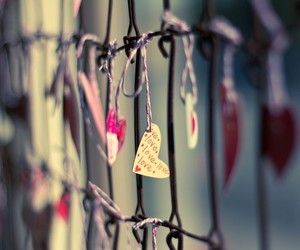 love, bed frame, and bokeh image