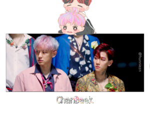 Chan, exo, and baek image